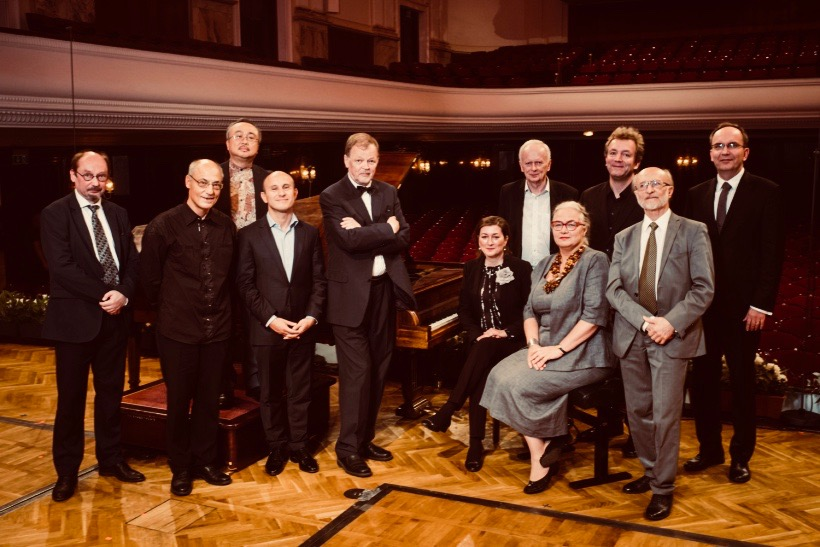 Second day of the final auditions of the International Fryderyk Chopin Piano Competition on period pianos. 13th September 2018, Warsaw, Poland on picture: jury members photo by Wojciech Grzedzinski/NIFC